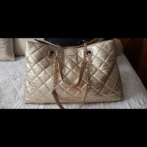 Kate Spade Gold coast Maryanne quilted large tote